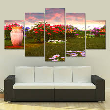 Paintings For Living Room Wall Online Get Cheap Garden Wall Painting Aliexpresscom Alibaba Group