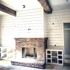 outdoor brick fireplace designs small plans s