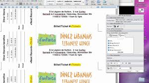 templates for raffle tickets in microsoft word raffle tickets youtube