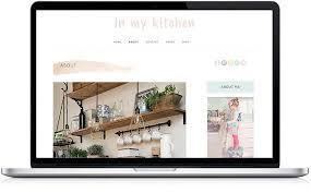 Kitchen Website Design Amazing WordPress Template Mobile Responsive Design Kitchen Etsy