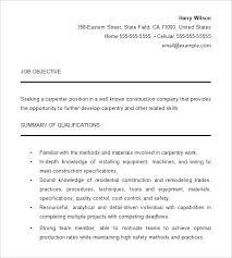 Carpenter Resume Templates This Is Carpenter Resume Examples Carpenter Resume Carpenter Resume 65