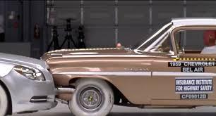 Head-On Crash: 2009 Chevrolet Malibu vs '59 Bel Air