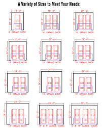 Best 25 Standard Garage Door Sizes Ideas On Pinterest  Garage Dimensions Of One Car Garage
