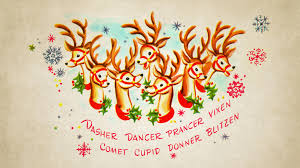 vintage christmas wallpaper.  Vintage Reindeer_wallpaper Intended Vintage Christmas Wallpaper N