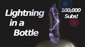 lighting in a jar. Lightning In A Bottle \u0026 100,000 Subscribers! Lighting Jar