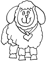 Small Picture Year of sheep coloring pages for kids Archives gobel coloring page