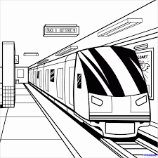 Small Picture Metro Train Coloring Pages Coloring Coloring Pages