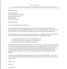 New Graduate Rn Cover Letter Samples Cover Letter For New Grad