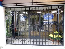 Iron Folding Gate - Iron Gates | Iron Fences | Goodwin-Cole Sacramento