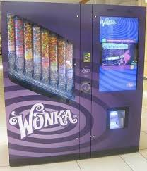 Vending Machine Sizes Uk Inspiration I Found 'Wonka Nerds Life Size Candy Vending Machine' At The