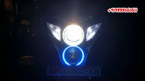 Pulsar 220 Dual Colour Angel Eyes Xenon Light By Avmod