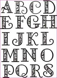 cool letter fonts to draw