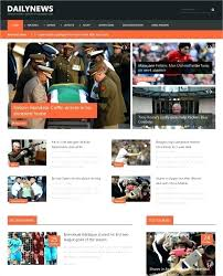 Newspaper Website Template Free Download Newspaper Web Template Free News Website Templates Blogger