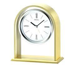 alarm clocks mantel clock table manual seiko quartz with chime