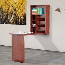 office table with storage. wall mount writing table convertible folding computer desk storage home office with