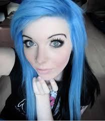 ira vira emo scene pastel goth gothic punk alternative sitemodel model make up colorful hair style