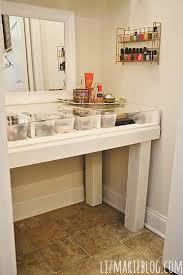 diy makeup vanity table. Modren Diy Magnificent Glass Top Vanity Table With Diy Makeup For Throughout Remodel 7 In