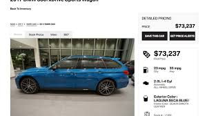 Which One Of You Maniacs Is Going To Buy This $73,000 BMW 3 Series ...
