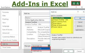 Add Ins In Excel How To Create Custom Functions Use As