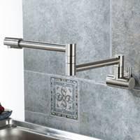 Discount Wall <b>Faucet</b> Kitchen <b>Single</b> Tap