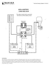 12 Volt Battery Wiring Diagram blue sea add a battery wiring diagram