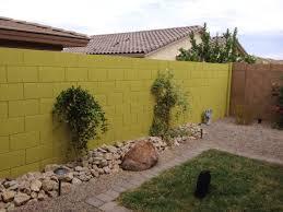painting block wallPerimeter Walls Wrought Iron Fence Painting Phoenix Arizona