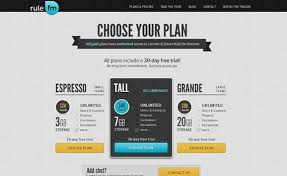 Rulefm pricing charts best examples tips inspiration pricing