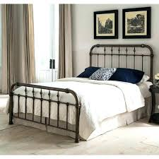 Full Size Iron Bed Full Size Of White Wrought Iron Bed Frame Beds ...