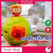 Đồ chơi cho bé Bóng tập bò phát sáng, có nhạc cho bé Winfun 0788NL LỖI 1  ĐỔI 1 tại Hà Nội