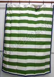 pottery barn kids rugby stripe grommet window curtains pottery barn ds