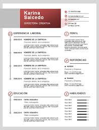 Formatos De Curriculum Vitae En Word Gratis 60 Formatos De Curriculum Vitae En Word Para Descargar Y