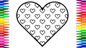 Small Picture Super Coloring Pages Hearts How to Draw and Color Heart Fun Kids
