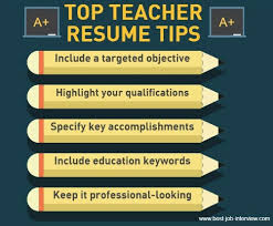 Teacherresumesgraphic Photo Album Website Keywords For Teaching