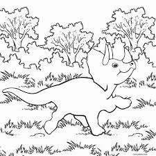 Stegosaurus Baby Dinosaur Coloring Page