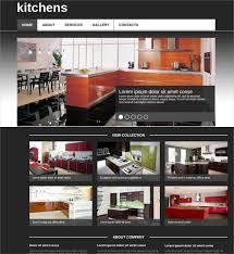 Kitchen Website Design Interior Cool Decoration
