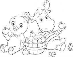 Small Picture Backyardigans Coloring Pages coloringsuitecom