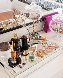 Bathroom Vanity Tray Decor Mirror Tray Mirrored Glass 60x60 Vanity tables Dressing 39