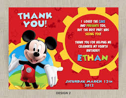 Free Printable Mickey Mouse Thank You Tags Major Magdalene