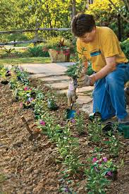 how to plant a garden. How To Plant Flowers A Garden