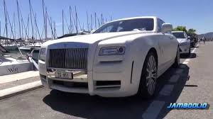 rolls royce ghost white limited mansory. rollsroyce mansory white ghost limited 1 of 3 in the world youtube rolls royce 9