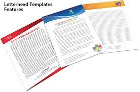Letterhead Templates Features Smiletemplates Com