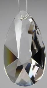 Amazonde 10er Set Kristall Tropfen 6cm Glastropfen