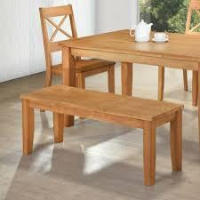 120cm wide perth dining bench oak