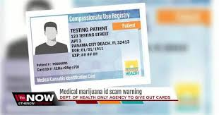 Warns Medical Of Department Floridians Scams Health About Marijuana