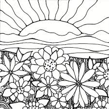 Small Picture Great Flower Garden Coloring Page 63 For Your Free Coloring Kids