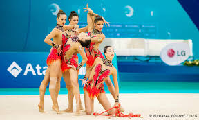 back to the end of the world rhythmic gymnastics chionships what a beautiful result for europe