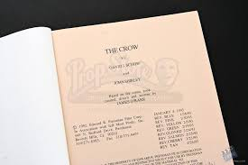 Script Storyboard Impressive Script And Storyboard Lot Film Production From The Crow 48