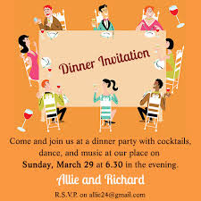 Fab Dinner Party Invitation Wording Examples You Can Use as Ideas