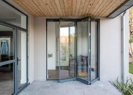 slim frame aluminium bifold doors