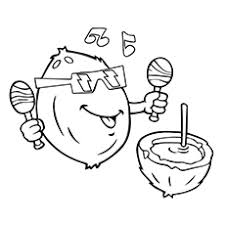 Small Picture Top 10 Coconut Coloring Pages For Your Toddler